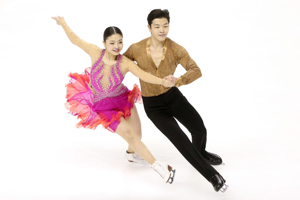Maia Shibutani and Alex Shibutani compete in the Short Dance during the 2018 Prudential U.S. Figure Skating Championships