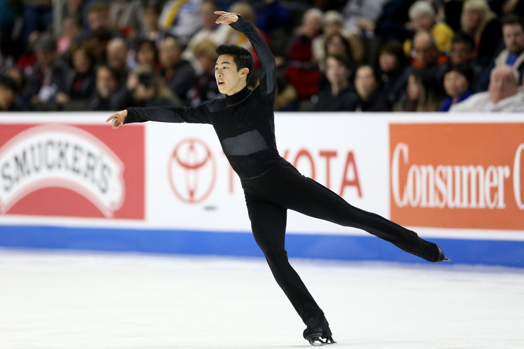 Nathan Chen competes in the Men's Free Skate during the 2018 Prudential U.S. Figure Skating Championships