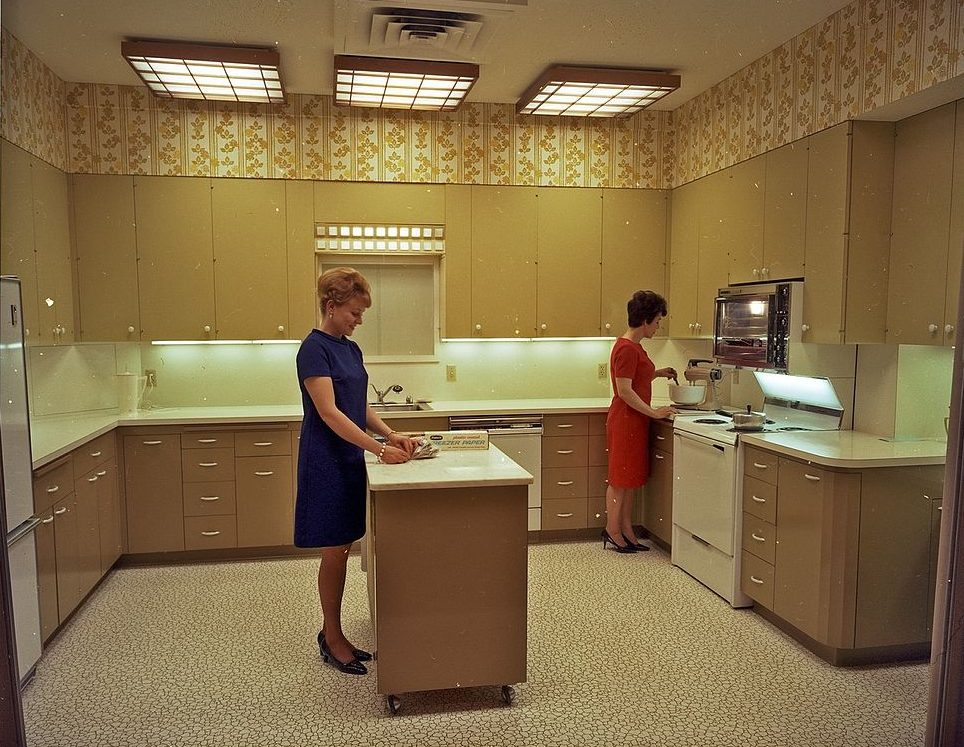 1960s kitchen
