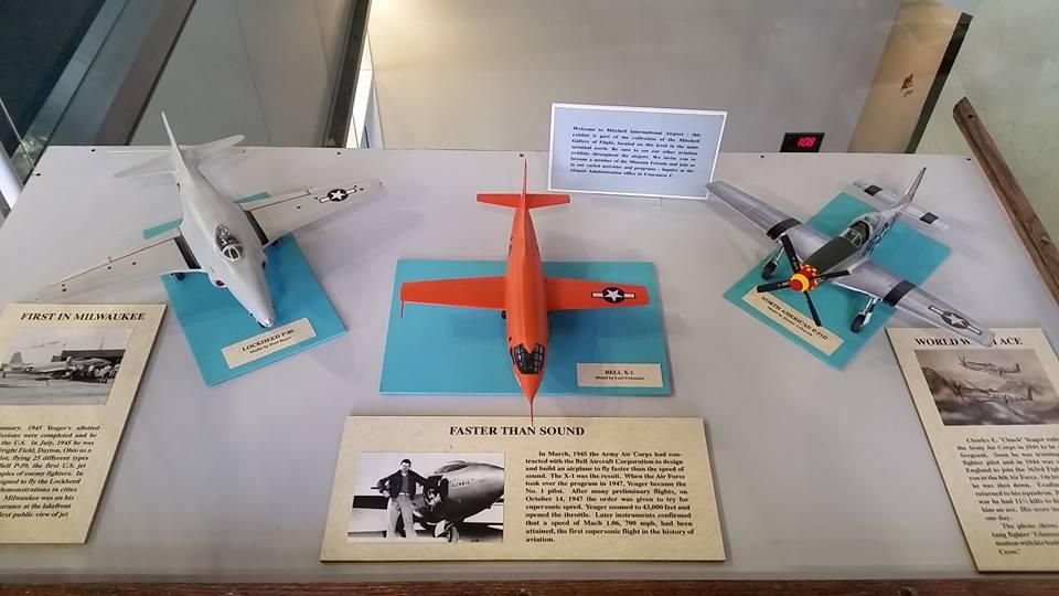 Mitchell Gallery of Flight airport museum