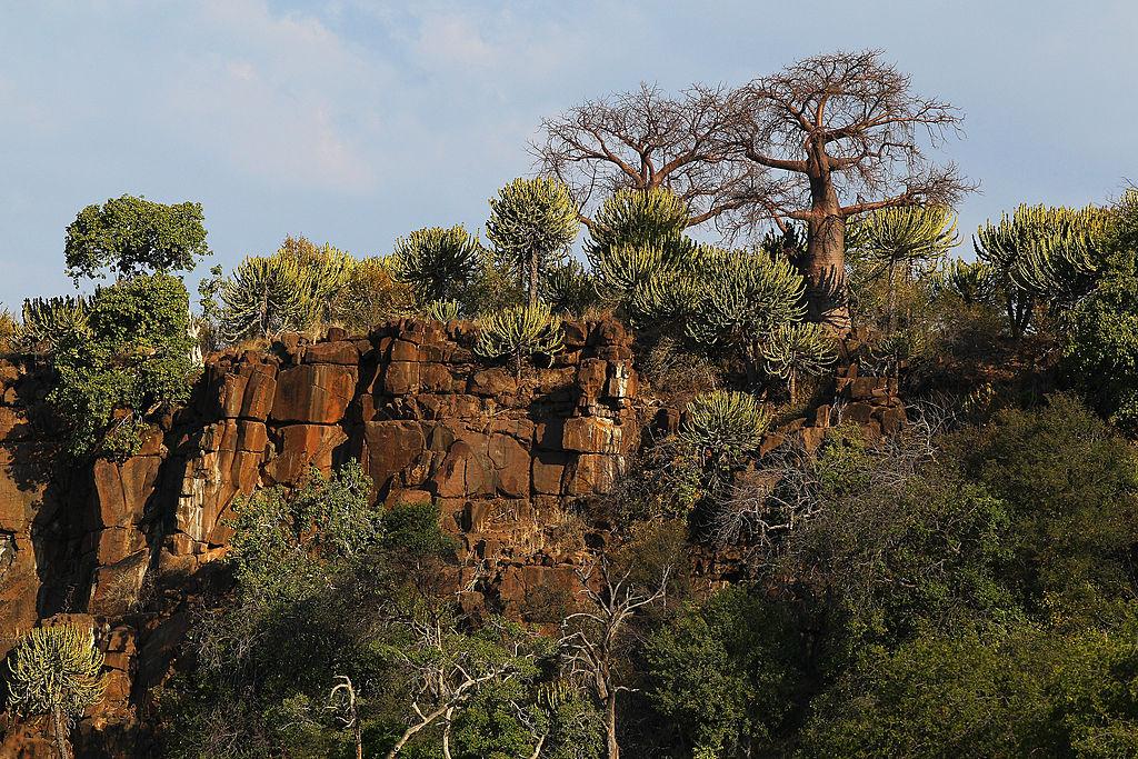 Cliff top in Mapungubwe, Botswana