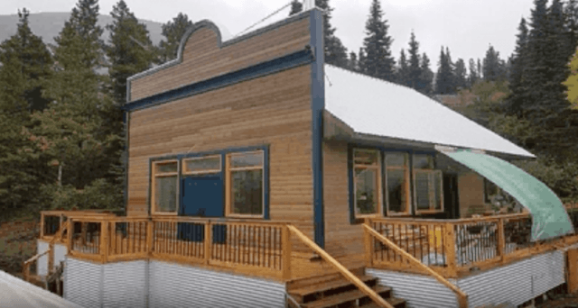The brothel in Canada being renovated as a tourist attraction.
