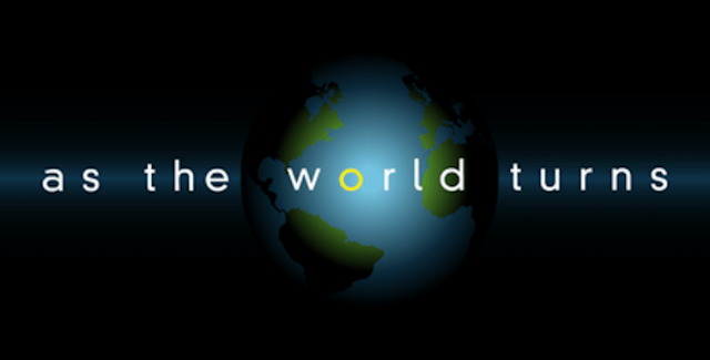 As The World Turns logo.
