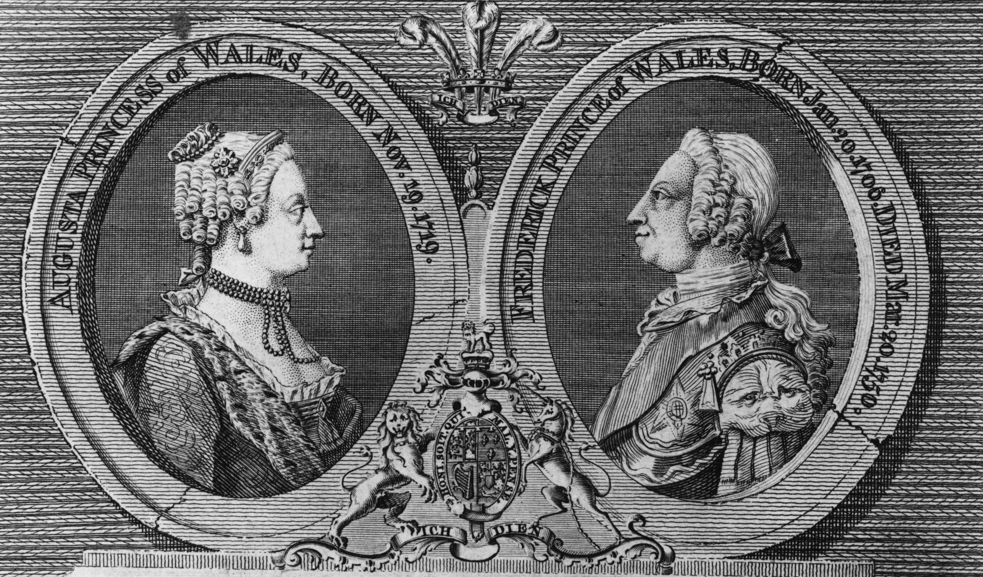 Frederick Louis and Princess Augusta of Wales