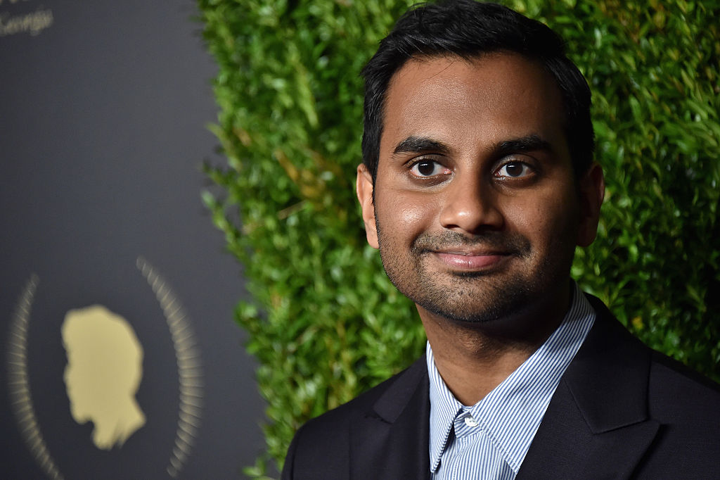 Actor Aziz Ansari attends the 2016 Peabody Awards.