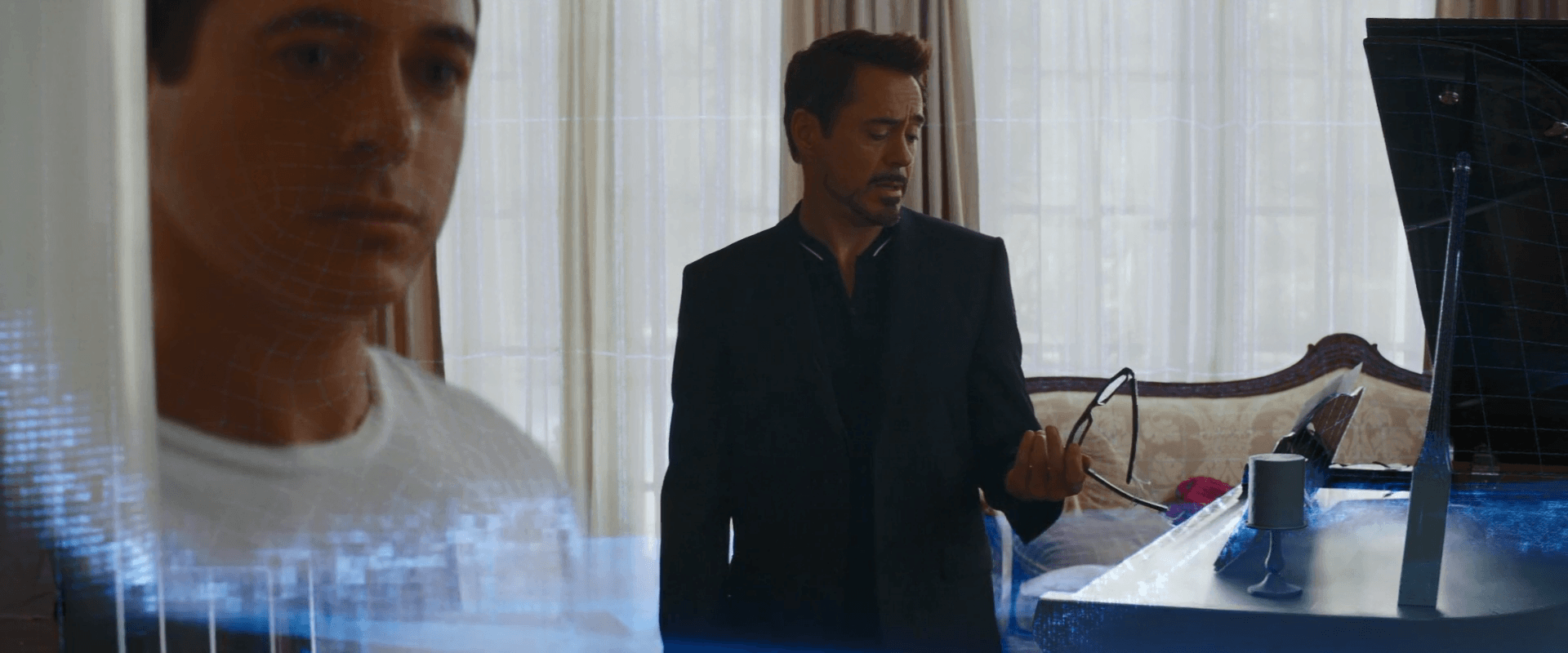 Robert Downey Jr. as Tony Stark in Captain America: Civil War