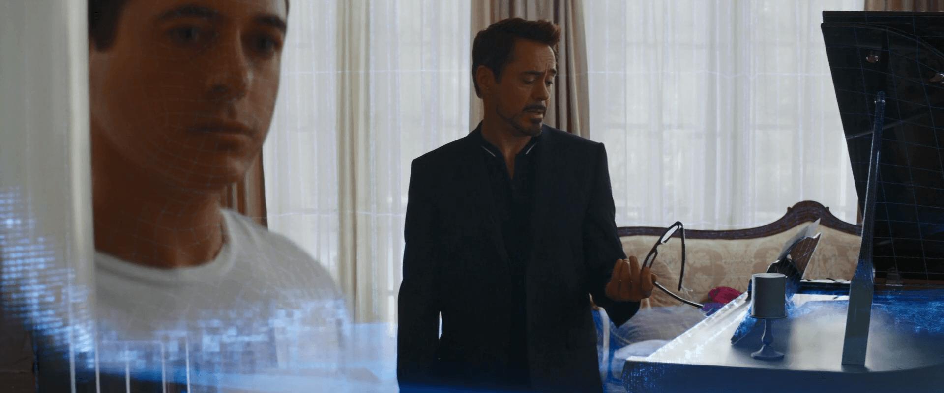 Robert Downey Jr. as Tony Stark in Captain America: Civil War