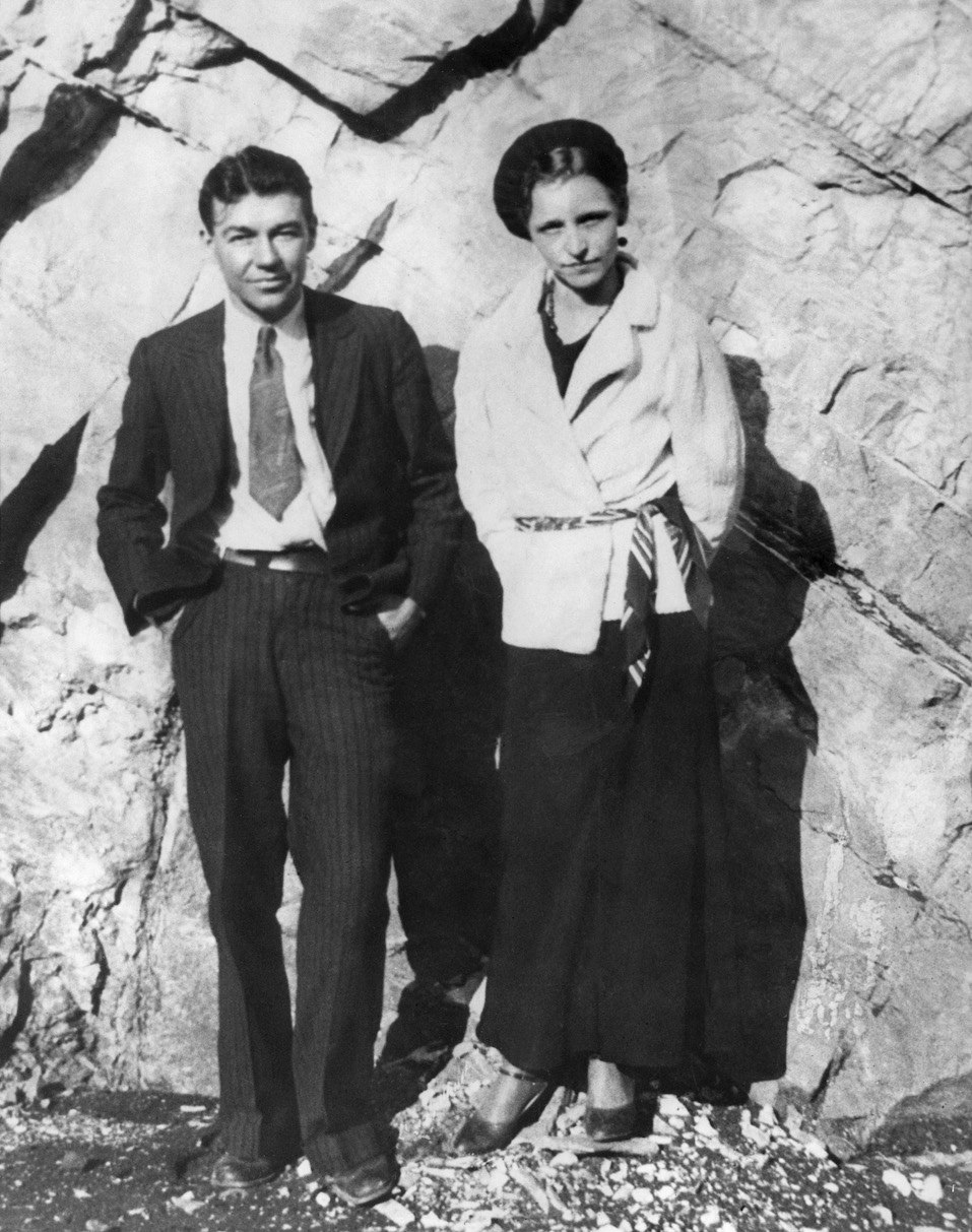 Notorious robbery partners Bonnie Parker and W.D. Jones