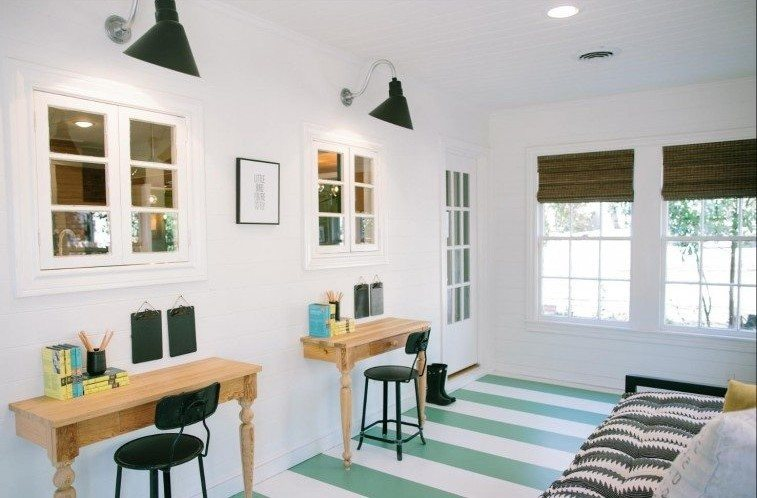 Fixer Upper Baby Blue House