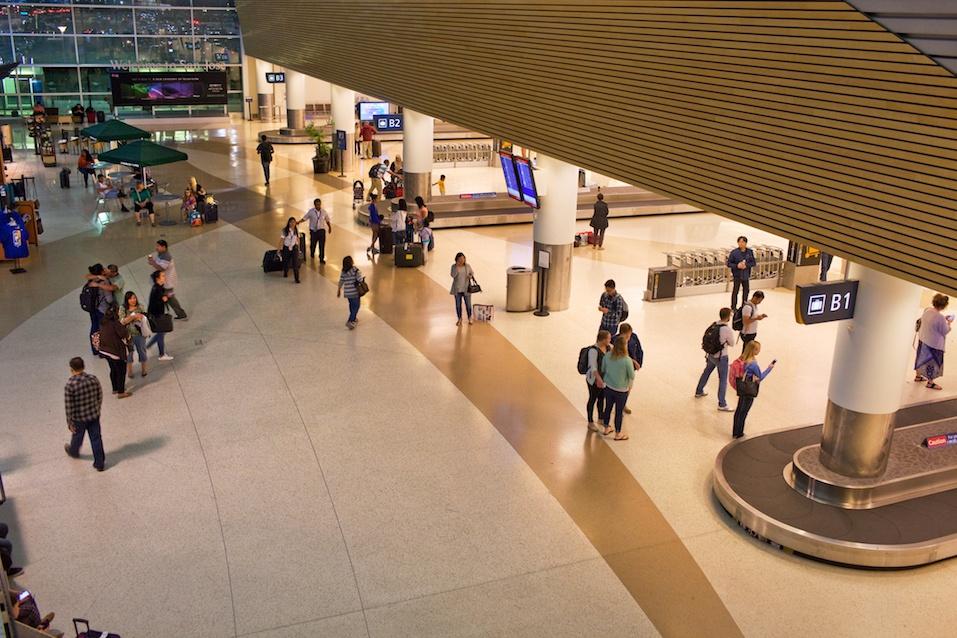 San Jose Mineta International Airport, Terminal B