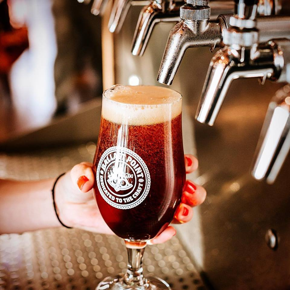 Ballast point brewing beer