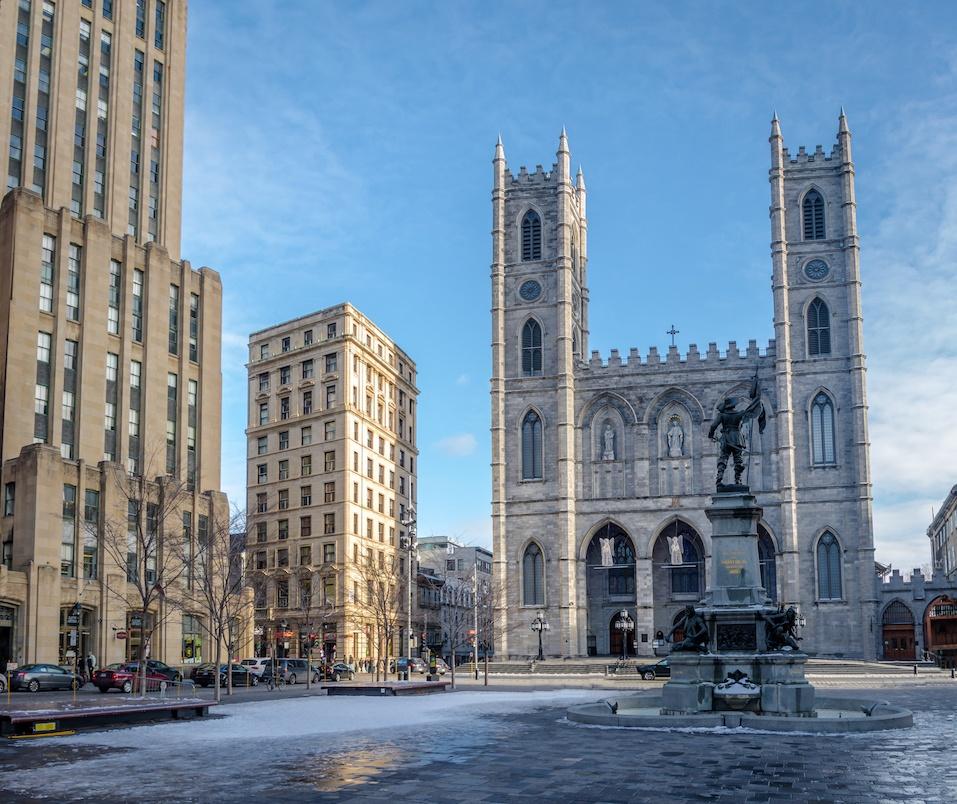 Basilica of Notre-Dame - Montreal, Quebec, Canada