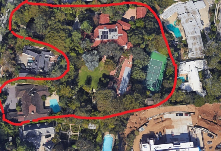 Jeff Bezos Beverly Hills Mansion expansion