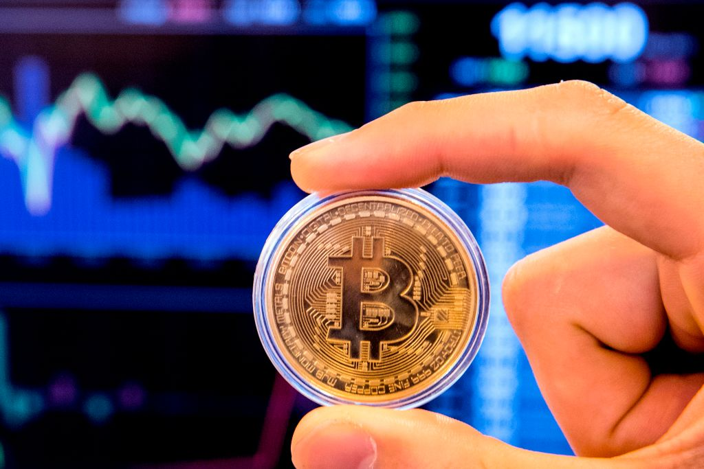 Cryptocurrency or bitcoin