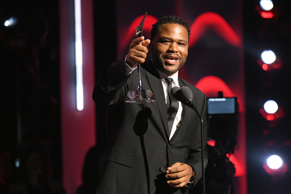 Anthony Anderson speaks onstage during Black Girls Rock! 2017 at NJPAC