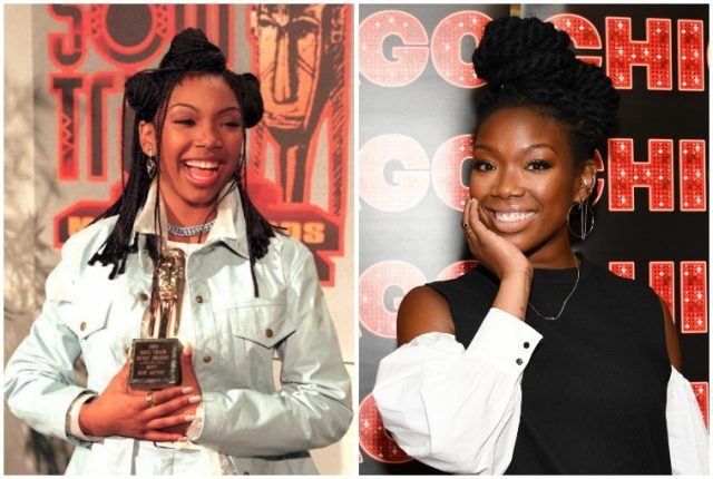 Brandy collage.
