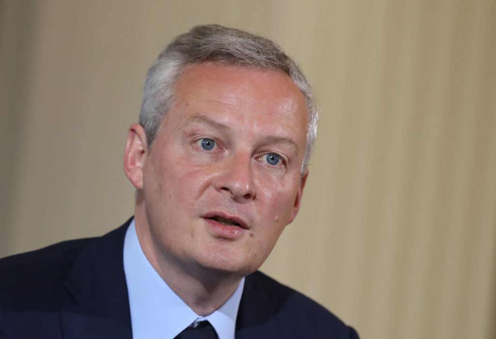 French finance minister Bruno le Maire
