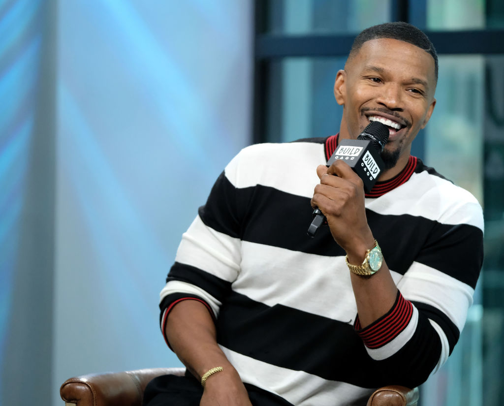 "Build Presents Jamie Foxx Discussing His New Game Show ""Beat Shazam"" at Build Studio"
