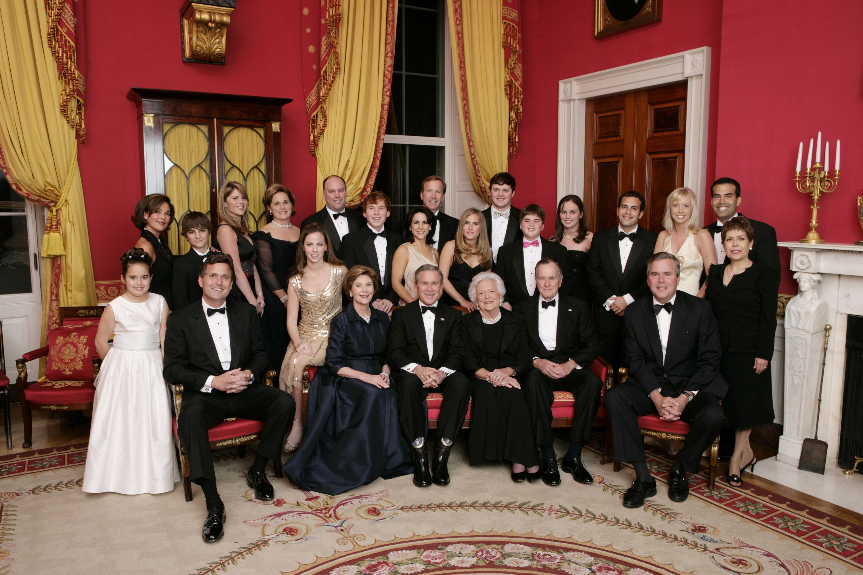 Bush Family Portrait