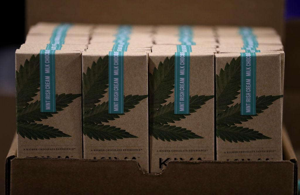 Cannabis infused marijuana