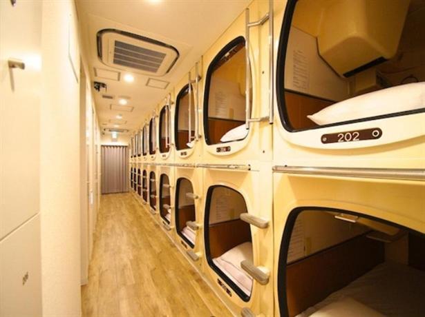 Capsulevalue Kanda capsule hotel japan