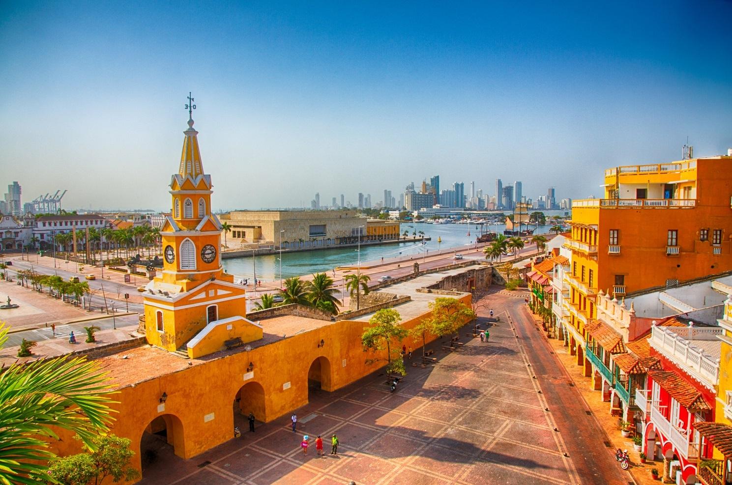 Cartagena, Colombia Clock Tower