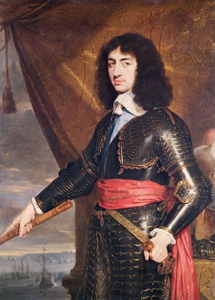 painting of King Charles II