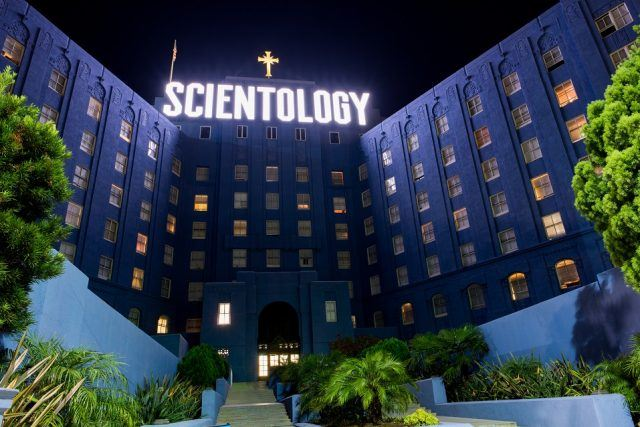 Church of Scientology building in Los Angeles.