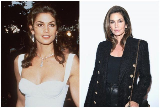 Cindy Crawford collage.