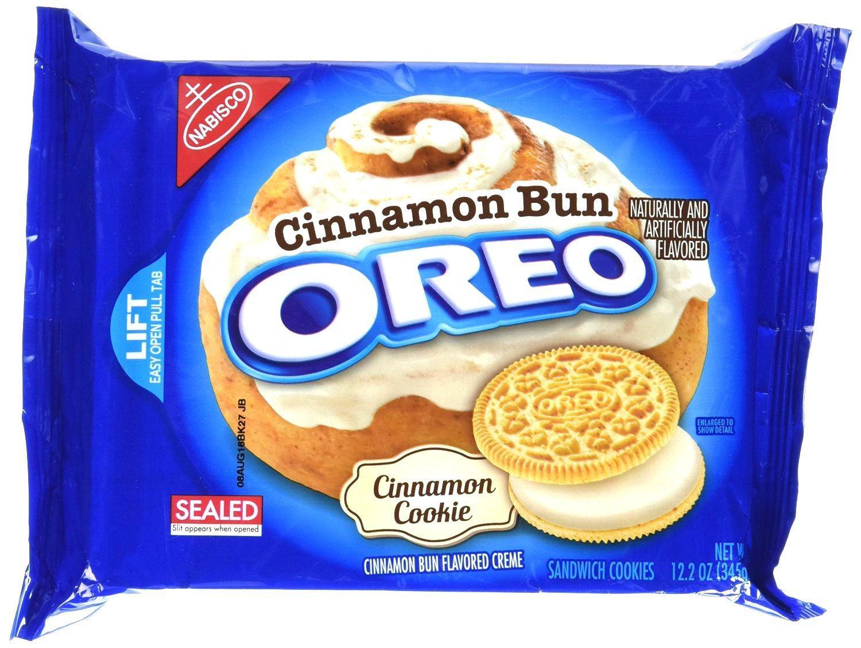 Cinnamon Bun Oreo