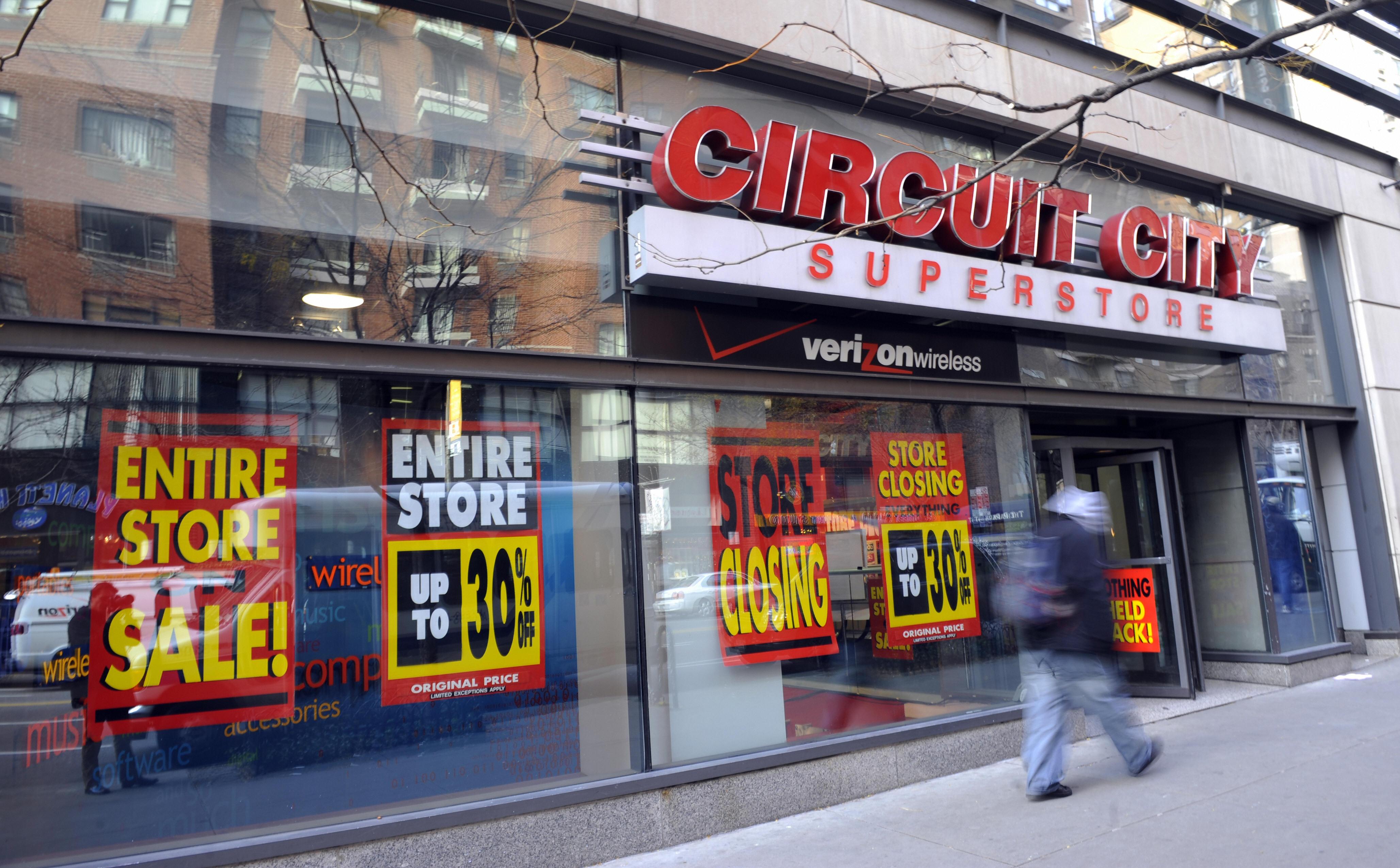 Circuit City Store Closing