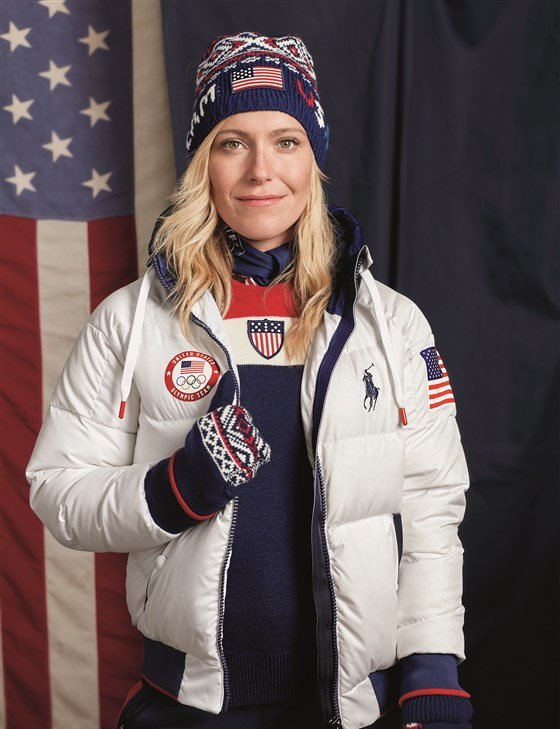 Olympic closing ceremony outfit by Ralph Lauren