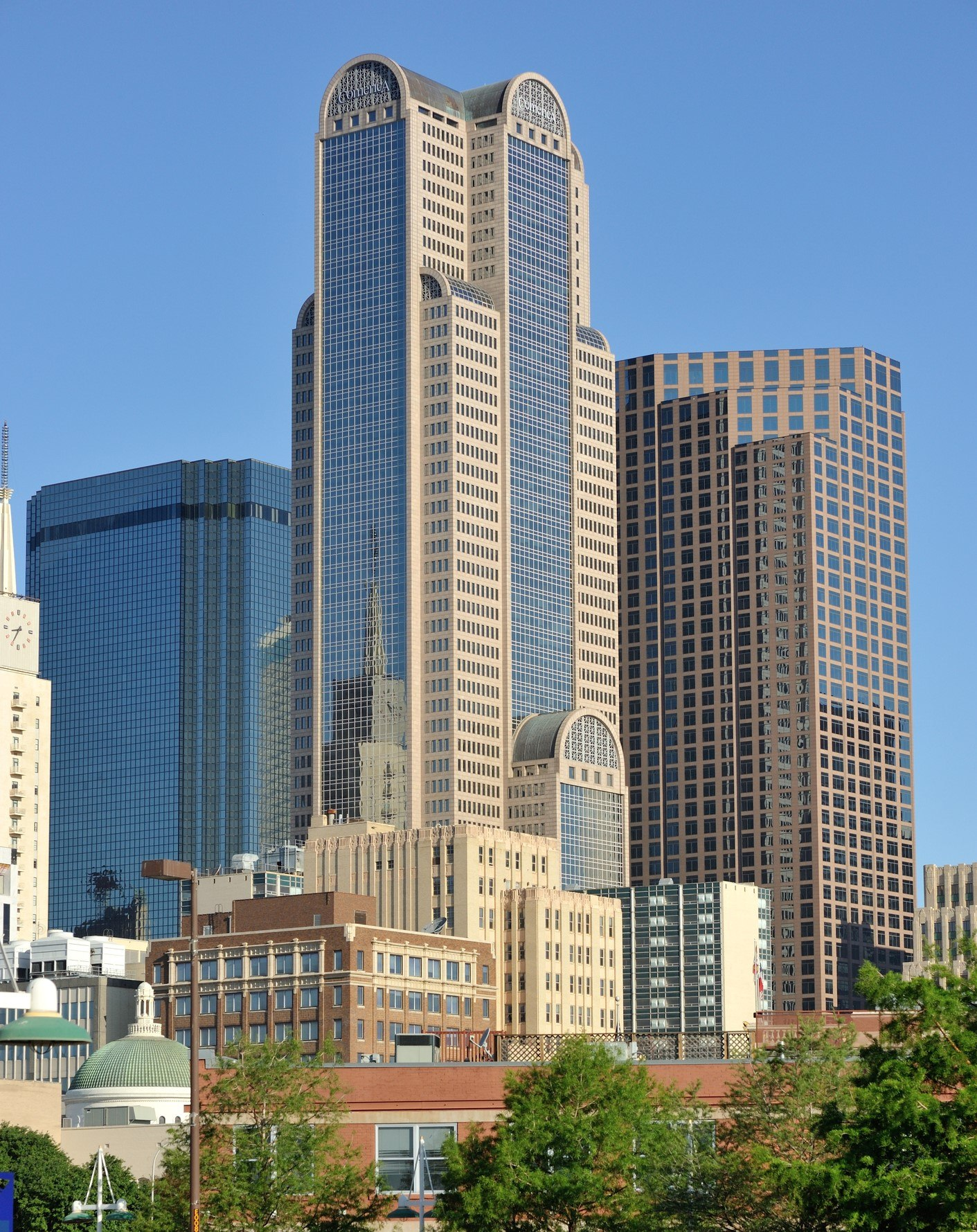 Comerica bank tower in Dallas,Texas