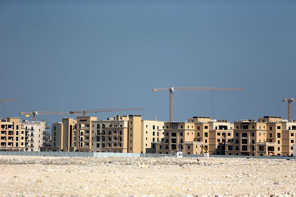 Early works on Lusail Stadium near completion ahead of the 2022 FIFA World Cup Qatar
