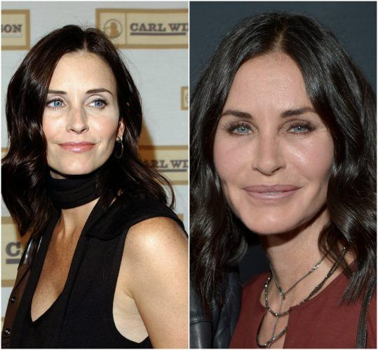 Courtney Cox collage.