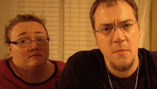 The parents of DaddyofFive during a video segment.