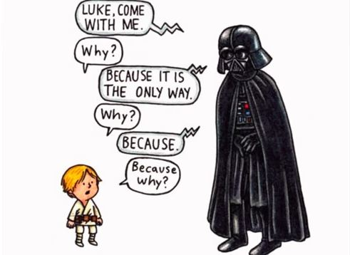 'Darth Vader and Son' is great for reading with kids.