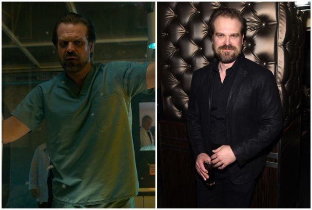 David Harbour collage.