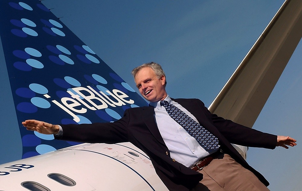 David Neeleman, Chief Executive Officer of Jet Blue Airways