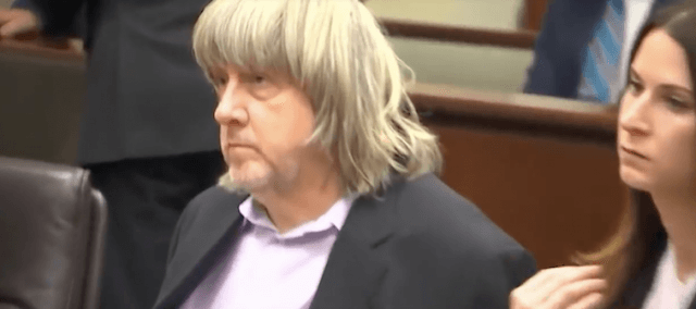 Turpin in a courtroom.