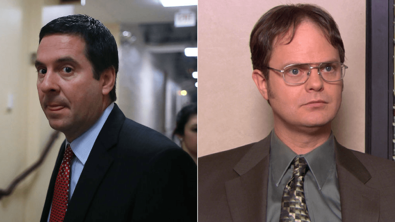 Devin Nunes and Dwight Schrute