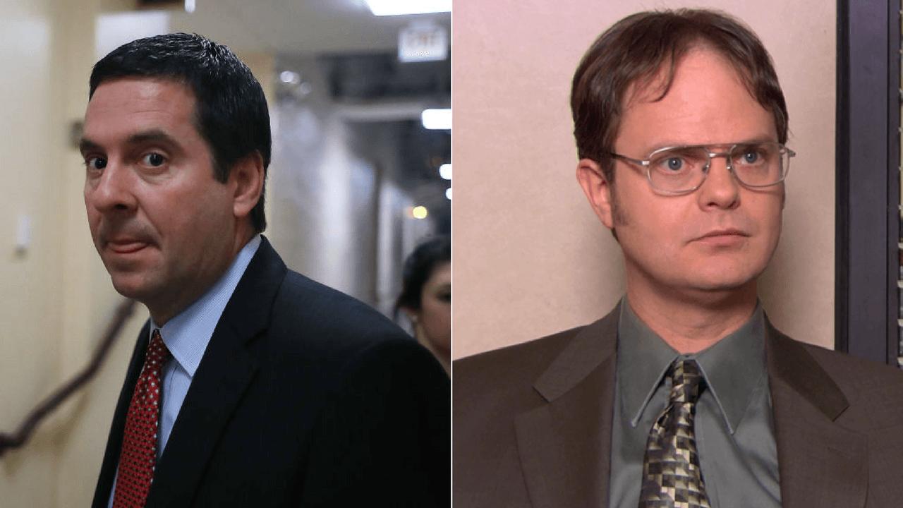 Devin Nunes and Dwight Schrute