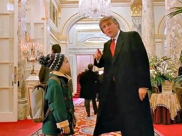 Donald-Trump in Home-Alone