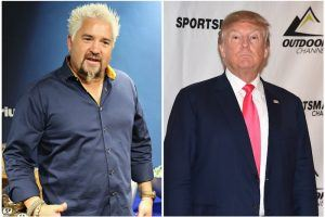 Donald Trump and Guy Fieri Have a Lot in Common, Including Being Disliked by Anthony Bourdain