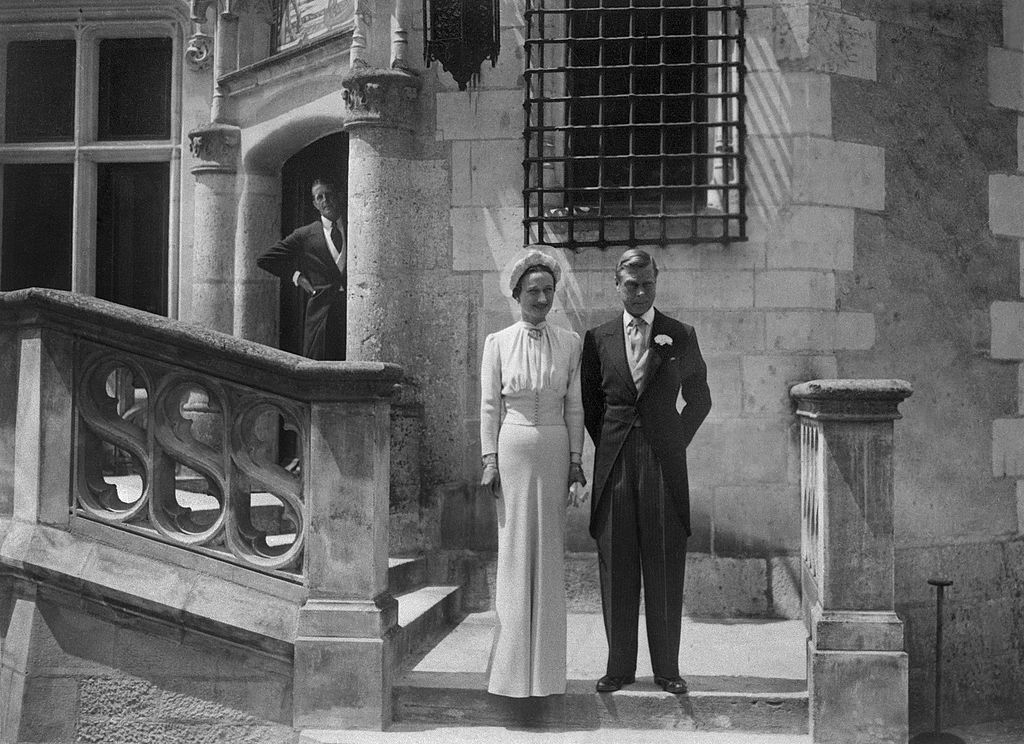 Edward, Duke of Windsor, and formerly Edward VIII of England, and his wife Wallis Simpson