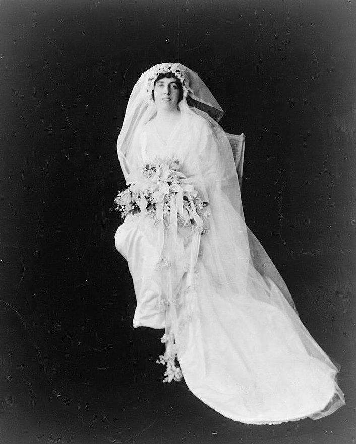 Eleanor Randolph Wilson wedding dress