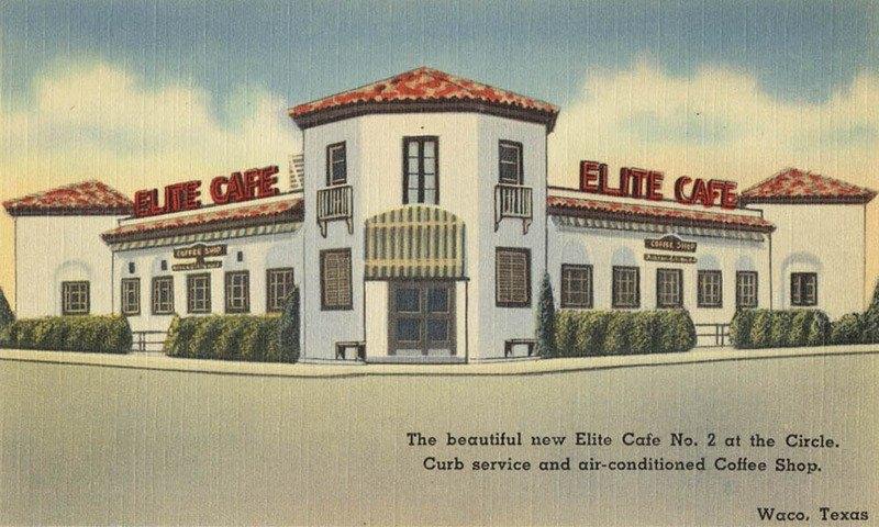 Elite Cafe drawing