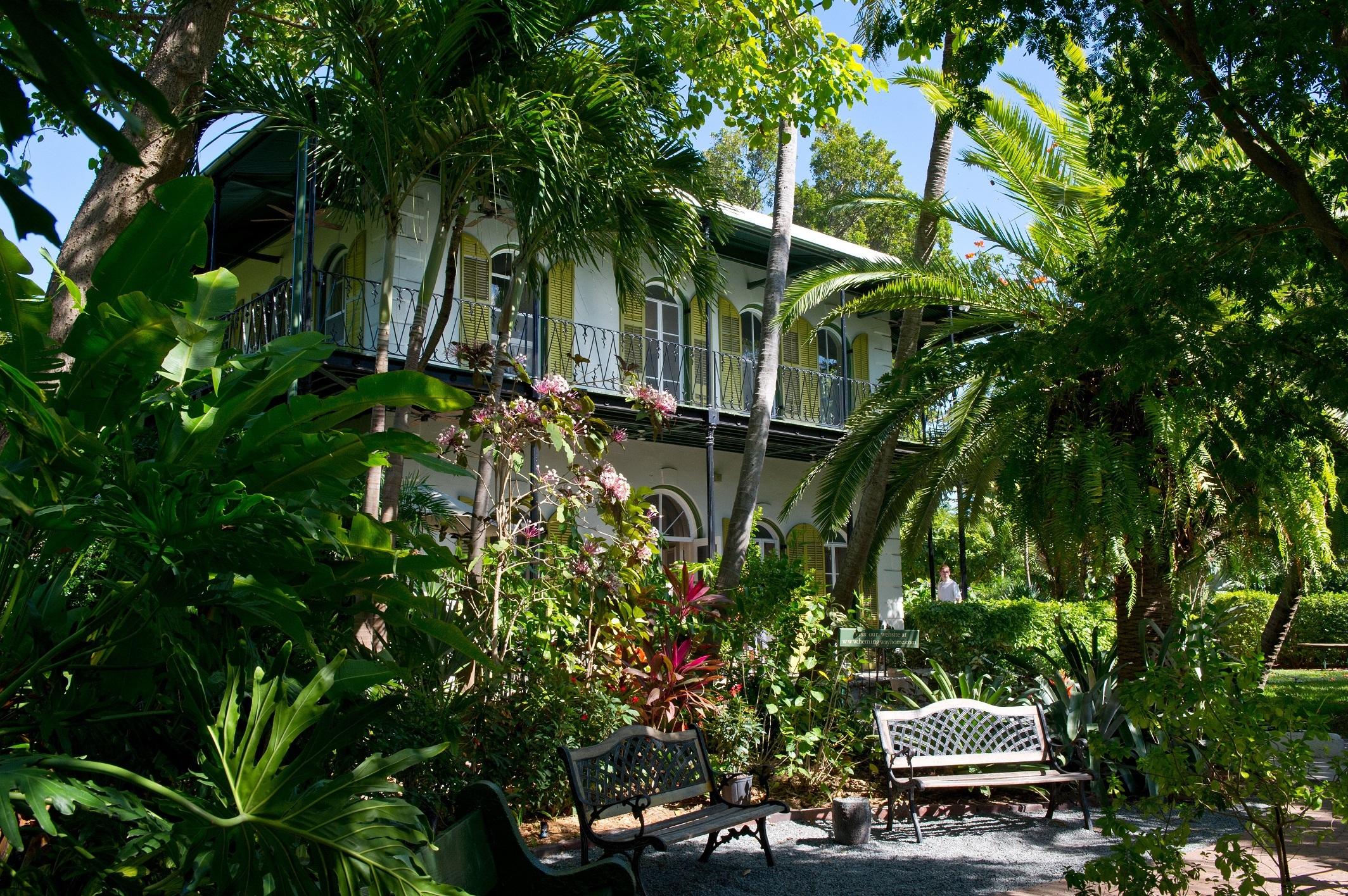 Ernest Hemingway home in Florida
