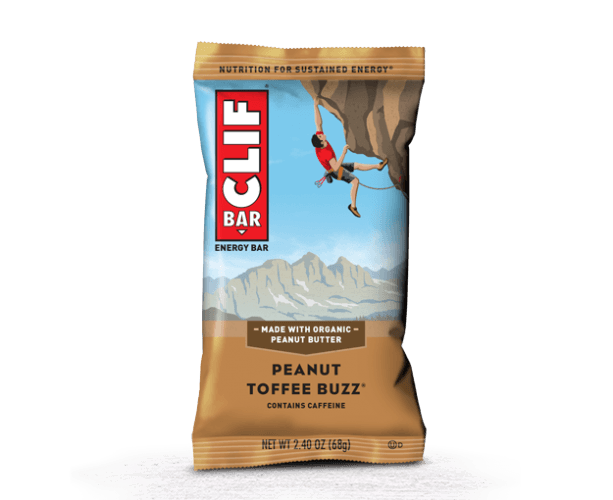 Clif bar on a white background.