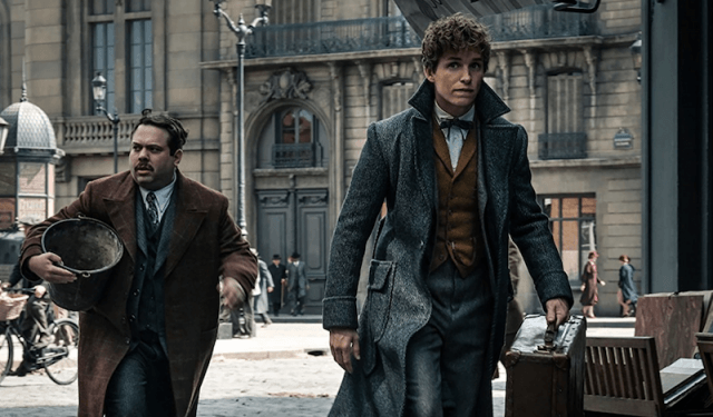 Eddie Redmayne in 'Fantastic Beasts and Where To Find Them'.